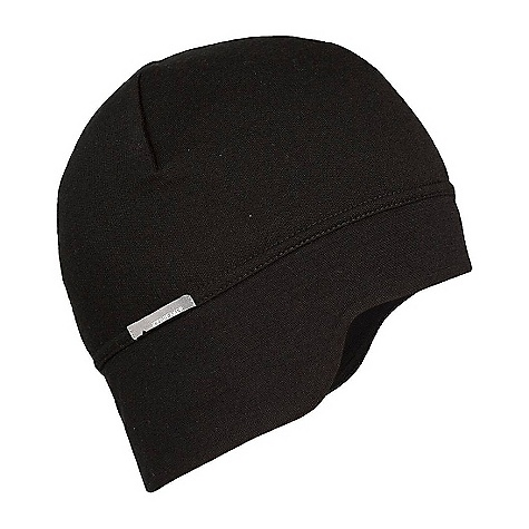 On Sale. Icebreaker Crosscut Hat DECENT FEATURES of the Icebreaker Crosscut Hat Pure warmth for the coldest of days Plush Realfleece fabric Bodyfit headband for fit/ comfort Ear flaps add warmth - $21.99