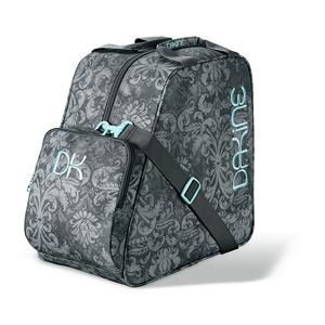 Ski Dakine Girls Ski Boot Bag - The Dakine Girls Boot Bag is perfect for your little girl to store her ski or snowboard boots. Made of a 600D Polyester this boot bag is highly durable and will last her for years. Features a zippered accessory pocket that is perfect for storing little items. An adjustable shoulder strap makes it easy for her to carry around her Dakine Girls Boot Bag. . Category: Boot Bags, Model Year: 2012, Product ID: 245354 - $24.95