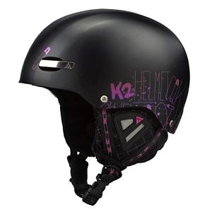 Ski K2 Indy Pro Audio Helmet - The 2010-11 Indy Pro takes helmets back to the classic skate helmet inspired look with stylish details. The K2 Indy Pro helmet fits low, drapes over your goggles and its K2dialed fit system provides a secure and comfortable fit all day long. The Baseline Audio speaker system brings music to your head and comes standard in every K2 pro-model helmet! The speakers come pre-installed in the exclusive Baseline Audio Pocket on all designated K2 helmets. The speaker housing is designed for minimal, low-profile stowage so you won't notice it unless the music is playing. If you would rather ride without music it is removable by simply opening the Audio Pocket in each ear pad and slipping out the speakers. The K2 Indy Pro Helmet is compliant with ASTM F2040 and CE EN1077:2007 ski and snowboard helmet standards for safety. ASTM F2040: The North American ski and snowboard helmet standard of performance EN1077:2007: The European ski and snowboard helmet standard of performance. Features: Universal Fit Shape. Certifications: ASTM/CE, Warranty: One Year, Gender: Mens, Special Features: Baseline Audio, Special Features: Dialed In Fit System, Race: No, Category: Half Shell, Audio: Comes With, Brim/Visor: No, Ventilation: None, Custom Fit Adjustment: Yes, Year Round Capable: No, Shell Construction: Hard Shell, Model Year: 2011, Product ID: 228129, Shipping Restriction: This item is not available for shipment outside of the United States. - $39.97