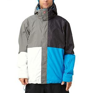 Snowboard Quiksilver Quarter Mens Insulated Snowboard Jacket - The next time your buddy asks you if you have a quarter, think wisely on your answer. The Quiksilver Quarter Insulated Jacket isn't something you loan out to your friends; they can two dimes and a nickel. The Quarter Jacket features 8,000mm of waterproofing and 5,000g of breathability. This keeping you warm and dry as you shred your local mountain. 40gms of insulation provides extra warmth and those cold winter days. In the spring un-zip your mesh liner to allow heat to escape so you don't feel trapped. The Quiksilver Quarter Jacket is going to be worth your two cents, just don't give it away. Features: Internal goggle pocket, Regular fit. Exterior Material: Nylon Dobby, Insulation Weight: 40gsm, Taped Seams: Critically Taped, Waterproof Rating: 8,000mm, Breathability Rating: 5,000g, Hood Type: Fixed, Pit Zip Venting: Yes, Powder Skirt: No, Warranty: One Year, Battery Heated: No, Race: No, Cut: Regular, Length: Medium, Insulation Type: Synthetic, Waterproof: Moderately Waterproof (5000mm-19,999mm), Breathability: Moderate Breathability (4000g-8999g), Cuff Type: Velcro, Wrist Gaiter: No, Waterproof Zippers: No, Cinch Cord Bottom: No, Model Year: 2012, Product ID: 307331, Type: Insulated, Use: Snowboard, Hood: Yes, Goggle/Sunglasses Pocket: Yes, Electronics Pocket: Yes, Pockets: 1-3 - $79.95