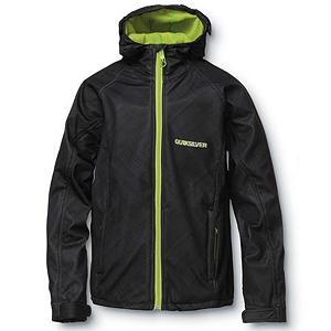 Ski Quiksilver Villa Rica Mens Soft Shell Jacket - Are you ready to stay warm on that extra cold day? The Quiksilver Villa Rica Soft Shell is a perfect mid-layer piece underneath your shell or you can rock it alone on the streets and in the spring. With DWR coating this jacket will repel moisture without it soaking through. Fleece back construction generates warmth for back so when sitting on a cold chairlift you'll barely notice a difference. The Quiksilver Villa Rica Soft Shell is going to be your new friend this winter. Features: Water-resistant. Exterior Material: Polyester, Softshell: Yes, Insulation Weight: N/A, Taped Seams: Critically Taped, Waterproof Rating: DWR Treated, Breathability Rating: N/A, Hood Type: Fixed, Pockets: 1-3, Hood: Yes, Warranty: Other, Battery Heated: No, Race: No, Type: Softshell, Jacket Fit: Slim, Length: Long, Insulation Type: Fleece, Breathability: Not Specified, Waterproof Zippers: No, Wind Protection: Yes, Model Year: 2012, Product ID: 307324, Model Number: KKMSJ083-BLK L, GTIN: 0883356799268 - $49.95