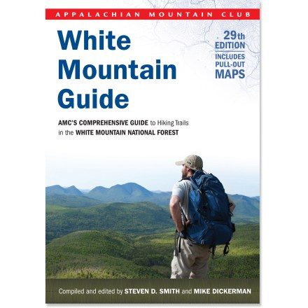 Camp and Hike The comprehensive 29th edition of the AMC White Mountain Guide has treasures for those new to the trails, as well as experienced White Mountain hikers. Package includes 6 pull-out maps. - $24.95