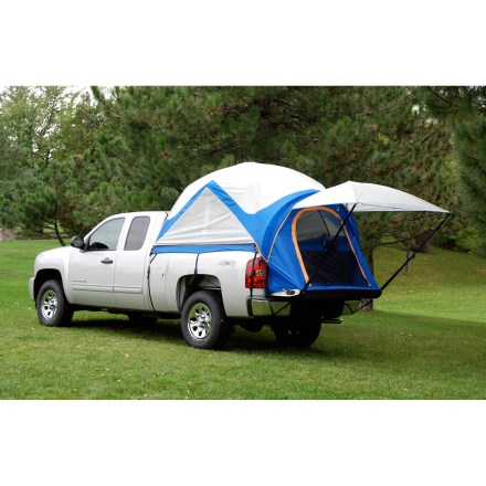 Camp and Hike The Sportz Truck Tent is the ultimate adventure accessory for impromptu camping events, tailgate parties, family vacations or wherever your wheels take you. - $189.93
