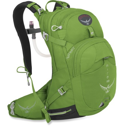 Camp and Hike The lightweight Osprey Mira 18 hydration pack combines a women-specific fit and great carrying comfort with the latest in easy hydration. - $69.93