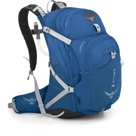 Camp and Hike The updated Osprey Manta 36 hydration pack combines ample volume and great carrying comfort with the latest in easy, functional hydration. - $79.93