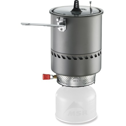 Camp and Hike High winds and freezing temperatures are enough to hamper the performance of many canister stoves. Not the MSR Reactor 1.0L. It excels on lightweight adventures in rugged alpine terrain. - $189.95