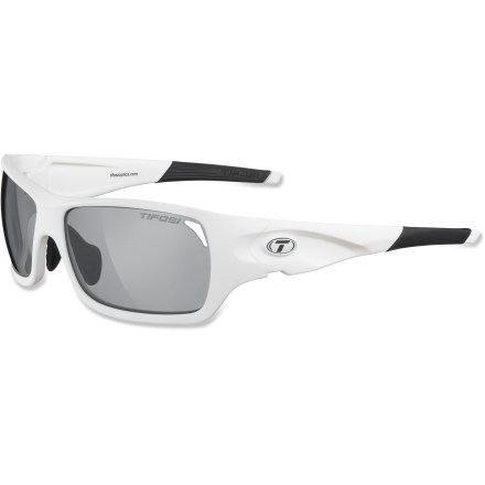 Camp and Hike TheTifosi Duro Fototec(TM) Photochromic sunglasses quickly adapt to changing environments, making them a great choice for all-day adventures. - $69.95