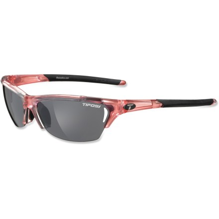 Golf The Tifosi Radius interchangable sunglasses for women include 3 lenses, making them a versatile choice for multisport athletes. - $69.95