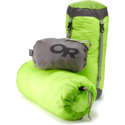 Camp and Hike The Outdoor Research UltraLight Backpackers kit gives you 3 options for stowing gear without adding cumbersome weight to your backpack. - $29.83