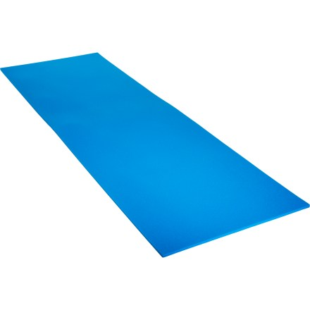 Camp and Hike Made with dense closed-cell foam, this standard blue foam pad provides excellent insulation between you and the cold ground to keep you warm on summer camping trips. - $14.93