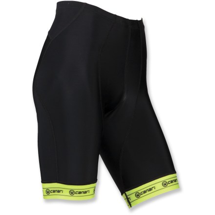 Fitness Whether it's a day-long ride or just a quick spin through the park, these Canari Exo bike shorts offer padded comfort for your ride. - $34.83