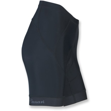 Fitness The Canari Exo women's bike shorts supply padded comfort and support at a great value for any type of riding. - $34.83
