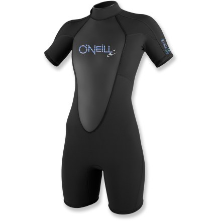 Kayak and Canoe Designed by women for women, the O'Neill Bahia Spring wetsuit offers an extra line of defense against that fun-dampening chill on the water. - $44.83