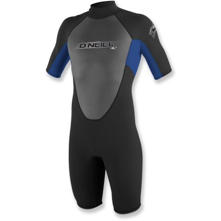 Kayak and Canoe The O'Neill Reactor Spring wetsuit for kids provides comfortable core insulation so you can bring the family kayaking, stand up paddleboarding and surfing. - $74.95