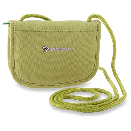 Entertainment The Sherpani Zoe Cross Body wallet is an adorable little grab-and-go wallet that can be slung over your shoulder for hands-free carrying. - $13.93
