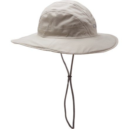 During a day on the water or out in the mountains you may encounter anything from driving rain to glaring sun. Be ready for anything with the versatile Outdoor Research SunShower sombrero. - $31.83