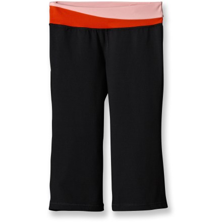 Fitness Flattering and smooth to the touch, the Patagonia Pliant knickers bring flexible comfort to practicing yogis. - $16.83