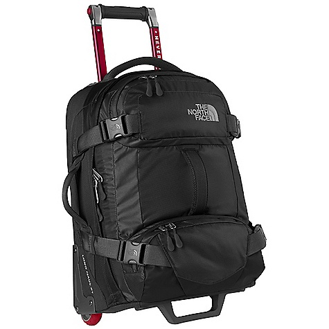 Entertainment Free Shipping. The North Face Longhaul 30IN Wheeled Duffel DECENT FEATURES of The North Face Longhaul 30IN Wheeled Duffel Large main compartment with internal compression straps, zippered side pocket and large zippered mesh pocket Two easyaccess external accessory pockets Ambidextrous, retractable handle Durable custom wheels and wheel housing Protective skid rails Bottom, top, front and side handles Business card window Large 1.5in. external webbing compression straps Reinforced corners for extra durability The SPECS Average Weight: 10 lbs 4 oz / 4650 g Volume: 5370 cubic inches / 88 liter Dimension: 30 x 16 x 10in. / 76 x 40 x 25 cm 420D nylon dobby 1200D polyester Phthalate-free TPE fabric laminate OVERSIZE ITEM: We cannot ship this product by any expedited shipping method (3-Day, 2-Day or Next Day). Even if you pick that option, it will still go Ground Shipping. Sorry for being so mean. This product can only be shipped within the United States. Please don't hate us. - $298.95