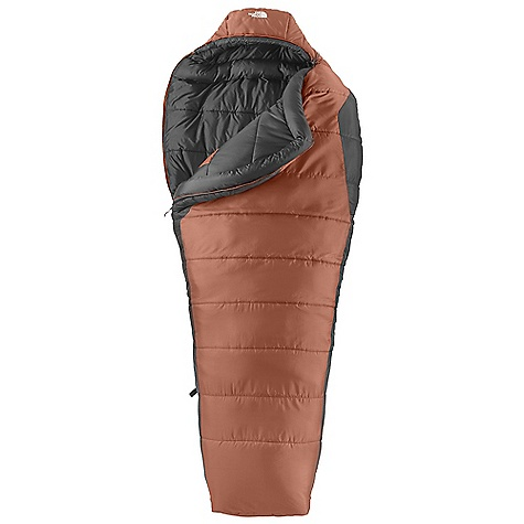 Camp and Hike Free Shipping. The North Face Elkhorn -20 Sleeping Bag DECENT FEATURES of The North Face Elkhorn -20 Sleeping Bag Heatseeker synthetic insulation Soft ripstop nylon shell Internal watch pocket The SPECS Temperature Rating: -20deg F / -29deg C Stuffsack Size: 14 x 22in. / 35.5 x 56 cm Fill: Heatseeker Shape: Mummy The SPECS for Regular Total Weight: 6 lbs 14 oz / 3130 g Fill Weight: 5 lbs 9 oz / 2530 g Compressed Size: 593 cubic inches / 9.7 liter The SPECS for Long Total Weight: 7 lbs 8 oz / 3400 g Fill Weight: 6 lbs 1 oz / 2740 g Compressed Size: 710 cubic inches / 11.6 liter This product can only be shipped within the United States. Please don't hate us. - $188.95