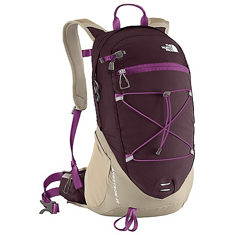 Camp and Hike Free Shipping. The North Face Women's Angstrom 20 Pack DECENT FEATURES of The North Face Women's Angstrom 20 Pack Hydration compatible Integrated rain cover Large stretch woven front and side water bottle pockets Multiple pockets for easy gear organization Women-specific fit The SPECS Weight: 1 lb 9 oz / 709 g Volume: 1220 cubic inches / 20 liter Dimension: 11 x 6.5 x 19.5in. / 27.5 x 16 x 49 cm Access: Panel H20 Compatible: Yes 70D mini-ripstop, 210HT ripstop nylon This product can only be shipped within the United States. Please don't hate us. - $98.95
