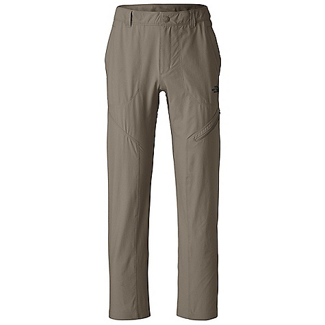 Features of The North Face Men's Taggart Pant Durable, midweight, abrasion resistant four-way stretch nylon Zip-fly and center front snap Belt loops Welted hand pockets Crotch gusset Secure-zip side and rear pockets Lined waistband for comfort QuickDry Ultraviolet Protection Factor (UPF) 50 - $36.99