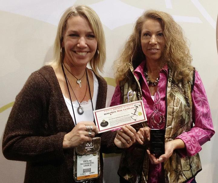 """LIKE"" this to join us in congratulating Ruth Cusack, winner of the 2012 Prois Award from Prois Hunting & Field Apparel for Women!! 