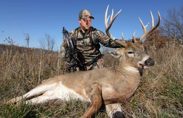 """LIKE"" this to congratulate Jake Stien on his Iowa buck!"