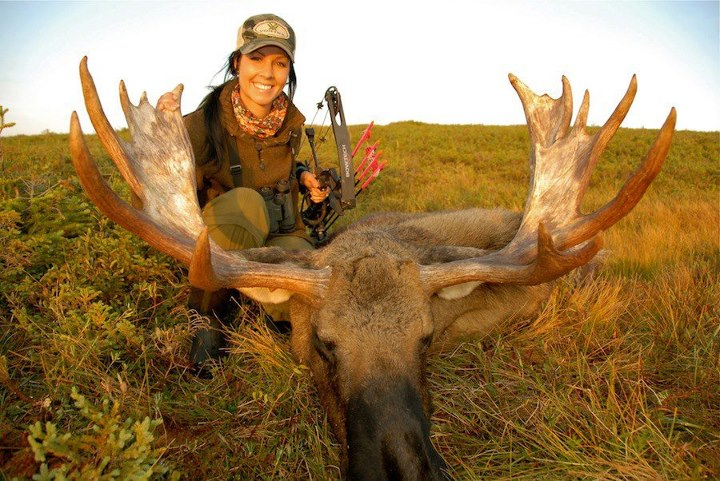 """LIKE"" this to congratulate Kelsy Claypool, Cody Robbins' wife on her Great Newfoundland Moose."