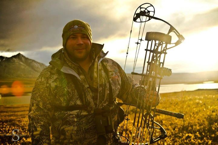 "Submitted by Luke Johnson - ""Here is a pic of me with my Destroyer 340 while on a recent Caribou hunting trip in Alaska."""