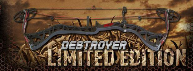 The Destroyer 350 is back and is better than ever, decked out with an all-new look and three of BowTech's Industry Changing technologies!!