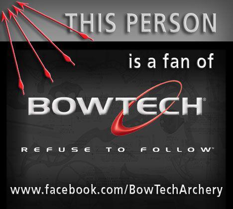 Share this to let all your friends know that you think BowTech bows rock!!