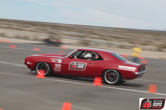 "Motorsports 2010 OUSCI Champion Mark Stielow on the autocross in his 1969 Camaro ""Red Devil"""