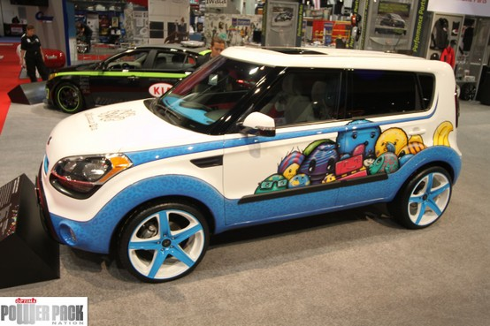 Auto and Cycle Krazy Kia at SEMA 2011