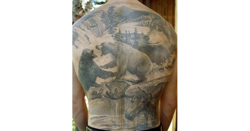 30 best hunting tattoos pics tanner parent thrill on for Alaska tattoo shops