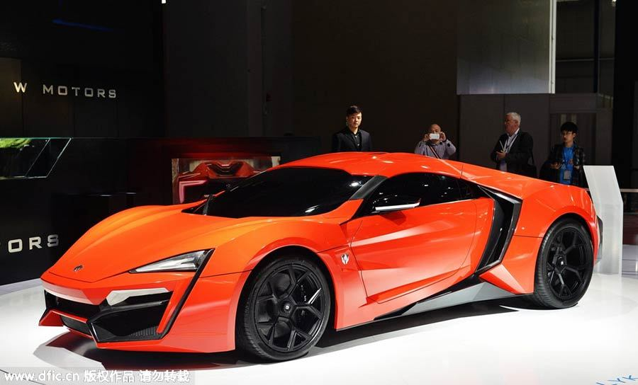 Lykan Hypersport Top View >> W Motors Lykan HyperSport Price: $3.4 million - Thrill On