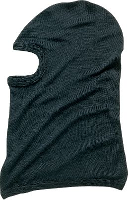 Keep your face and head warm with this 100% silk Balaclava. One size fits most. Imported Color: Black. - $19.99