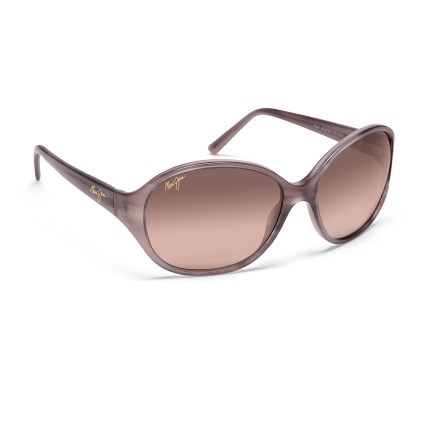 Camp and Hike The Maui Jim Ginger polarized sunglasses feature a feminine, modern shape for style, and amazing optics for all-day clarity. - $299.00