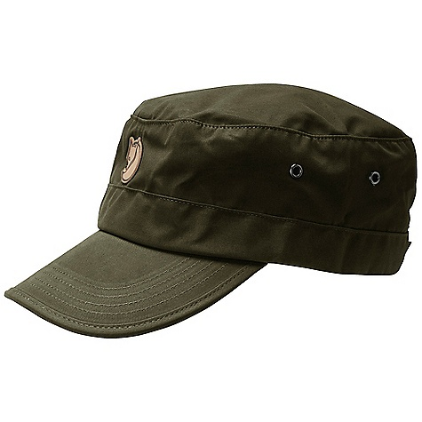 Fjallraven G-1000 Cap FEATURES of the Fjallraven G-1000 Cap Trekking cap in G-1000 Eco Silent with a slightly shorter brim Button adjustment at the back - $39.95
