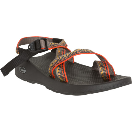 Surf Extraordinary outdoorsmen need extraordinary sandals, and thats where the Chaco Mens Z/2 Pro Sandal comes in. This legendary sandal has a burly non-slip Vibram IdroGrip outsole with tougher lugs than the sandals most weekend warriors wear on their cute hikes. Chacos pull-through strap system keeps your foot locked to the footbed and features soft polyester webbing that dries fast and maintains a consistent fit, so you know it can handle the most demanding endeavors. - $98.96