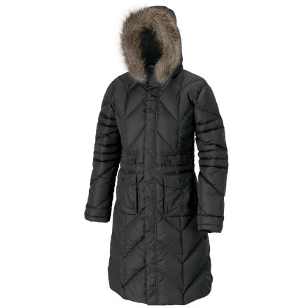 Dont be a lowly snow peasant. Wear the Isis Womens Snow Queen II Down Jacket and experience royal treatment instead of groveling in the cold. This hooded parka features removable faux-fur trim to foil those freezing winds and 650-fill down insulation to melt the coldest night air. - $89.69