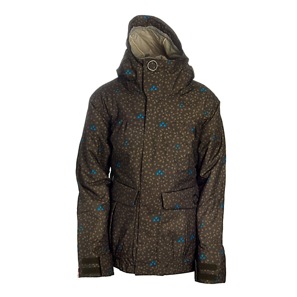 Snowboard Bonfire Gold Womens Shell Snowboard Jacket - The Bonfire Gold Women's Shell Snowboard Jacket is a perfect addition to the Bonfire Lineup. The Gold comes with everything you expect from an incredible company. Equipment pockets hold goggles, phones, or an electrical device along with pull string protection to keep the snow out. Polyester warmth with 5k breathable material and 5k waterproofness makes for an awesome day out on the mountain or a casual walk to the park. Taped Seams and a drawcord adjustment waistband will keep out snow and keep you dry for a hard day of shredding. Get gear that will hold its value with Bonfire. Features: Taped Seams. Length: Medium, Insulation Type: None (Shell), Waterproof: Moderately Waterproof (5000mm-19,999mm), Breathability: Moderate Breathability (4000g-8999g), Cuff Type: Velcro, Wrist Gaiter: No, Waterproof Zippers: No, Cinch Cord Bottom: No, Insulator: No, Model Year: 2009, Product ID: 183554, Cut: Regular, Type: Shell, Rain Jacket: No, Race: No, Battery Heated: No, Use: Snowboard, Warranty: One Year, Hood: Yes, Cuff Adjustment: Yes, Powder Skirt: Yes, Goggle Pocket: Yes, Electronics Pocket: Yes, Pockets: 4-6, Pit Zip Venting: No, Hood Type: Fixed, Breathability Rating: 5,000, Waterproof Rating: 5,000, Taped Seams: Fully Taped, Removable Liner: No, Insulation Weight: None, Softshell: No, Lining: Yes, Exterior Material: Polyester, Collar Lining: Brushed Micro Fiber - $39.95