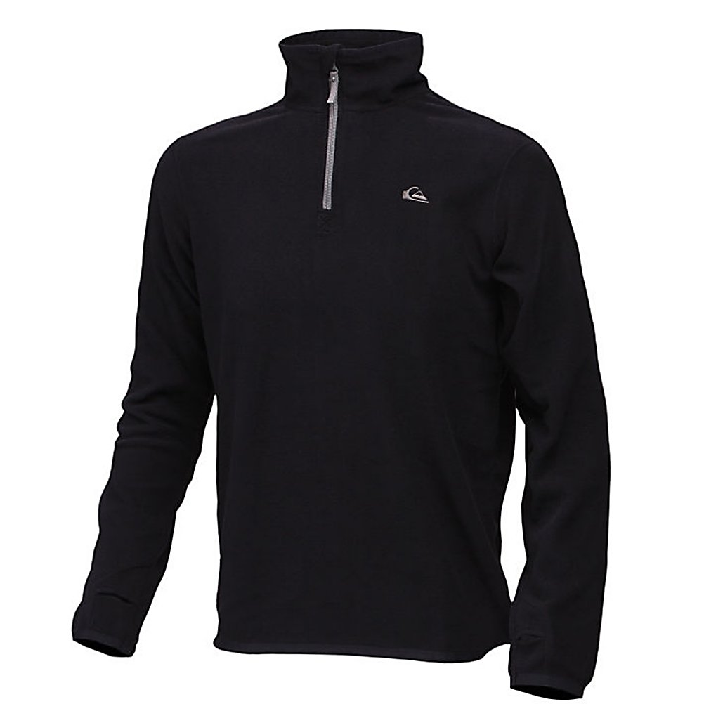 Ski Quiksilver Aker Half Zip Mens Mid Layer - When temperatures drop, it can be super chilly on the mountain. The Quiksilver Aker Half Zip Fleece is the perfect mid-layer for staying warm. Featuring 100% recycled polyester micro polar fleece to keep the body warm. Thumbholes prevent the hoodie from riding up on you as you cruise the mountain. The Aker Half Zip Fleece is a one-stop shop for mid-layering, body warmth, and all around comfort. . Material: 100% recycled polyester micro polar fleece, Fleece Weight: Mid, Category: Mid-Weight, Hood: No, Warranty: Other, Battery Heated: No, Closure Type: Partial Zip Top, Wind Protection: No, Type: Turtlenecks and Layering, Material: Fleece, Wicking Properties: No, Sleeve Type: Long Sleeve, Water Resistant: No, Model Year: 2012, Product ID: 307311 - $29.99
