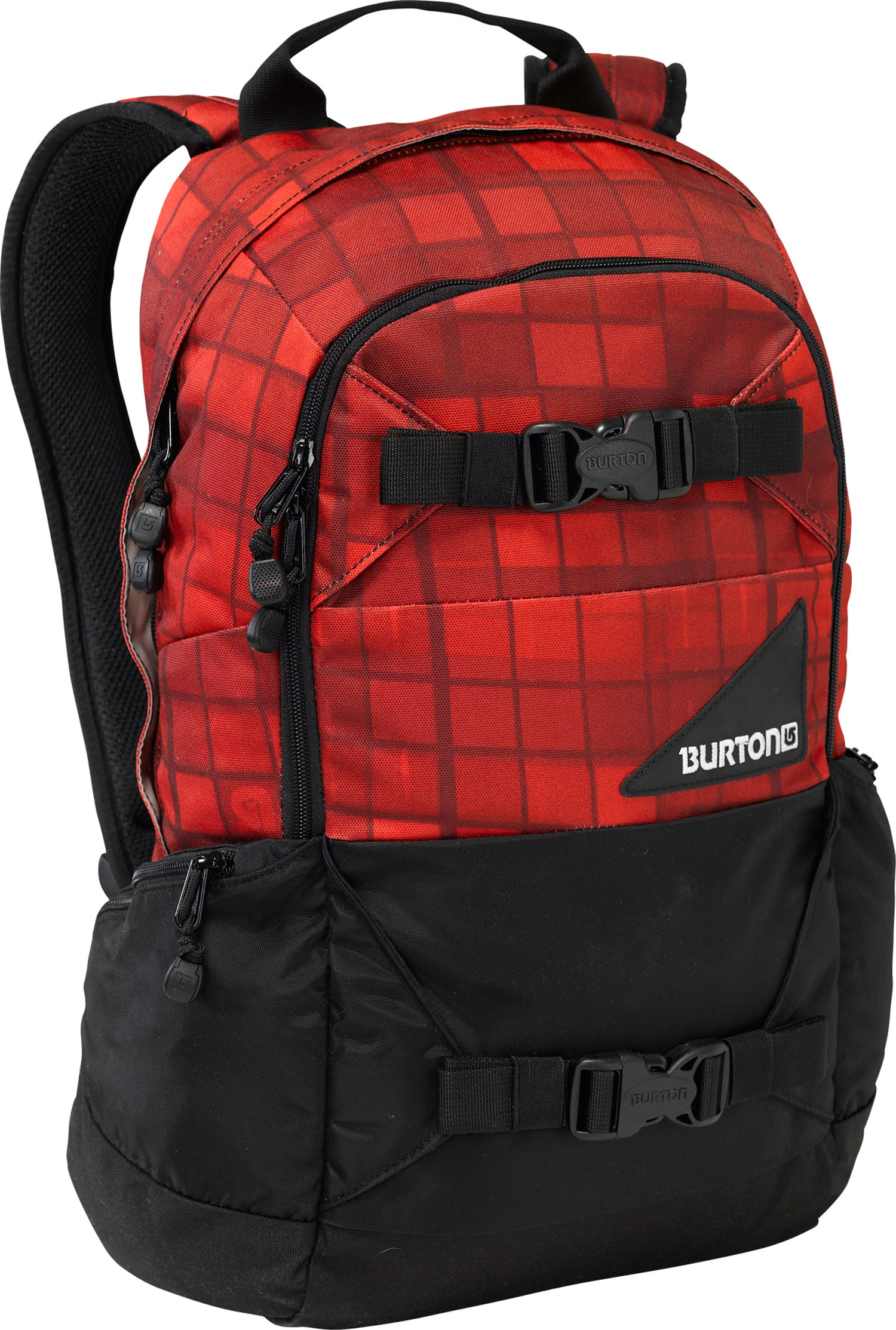 Camp and Hike Versatile, dependable, and durable,ready for any on or off-snow adventure. Key Features of the Burton Day Hiker 20L Backpack: 20L [19in x 11in x 8in] [48cm x 28cm x 20cm] Weight: 1.9 lbs [0.86 kg] Fabrication: 420D High-Density Nylon / 600D Polyester Cush Ergonomic Shoulder Harness and Ergonomic Back Panel Vertical Board Carry Easy Access Internal Shovel Storage Pocket Fleece-Lined Goggle / Sound Pocket Hydration Compatible Waist Strap - $38.95