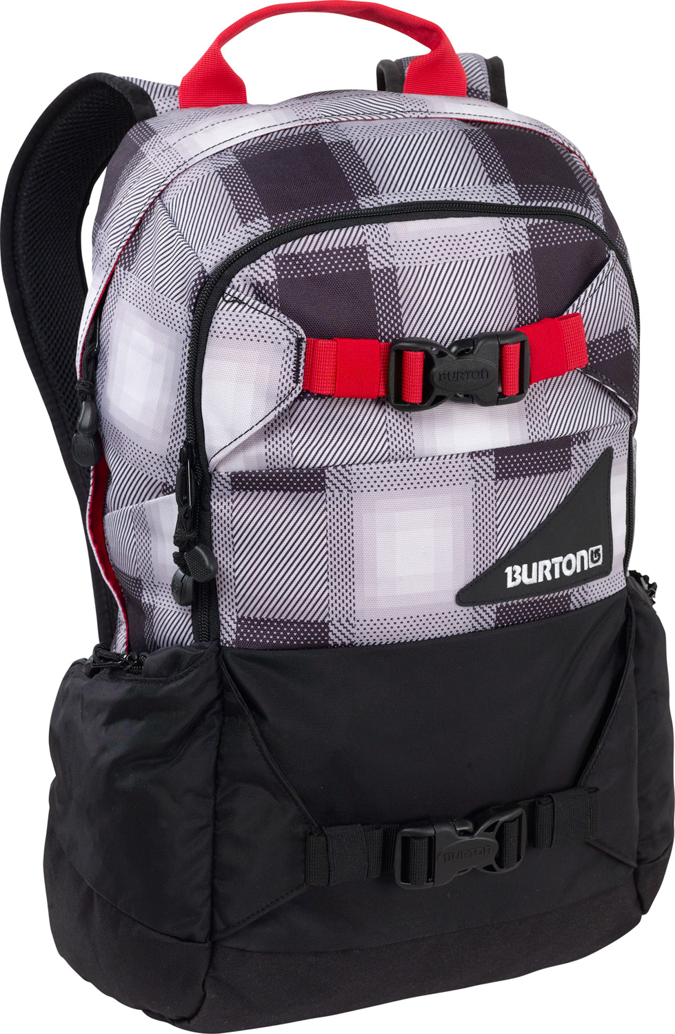 Camp and Hike Versatile, dependable, and durable, ready for any on or off-snow adventure.Key Features of the Burton Day Hiker 20L Backpack: Fabrication: 420D High-Density Nylon / 600D Polyester Cush Ergonomic Shoulder Harness and Ergonomic Back Panel Vertical Board Carry Easy Access Internal Shovel Storage Pocket Padded Laptop Compartment [20L Only] [12 in. x 10.5 in. x 1.5 in.] Fleece-Lined Goggle / Sound Pocket Hydration Compatible Waist Strap Dimensions: [19 x 11 x 8 in.] - $38.95
