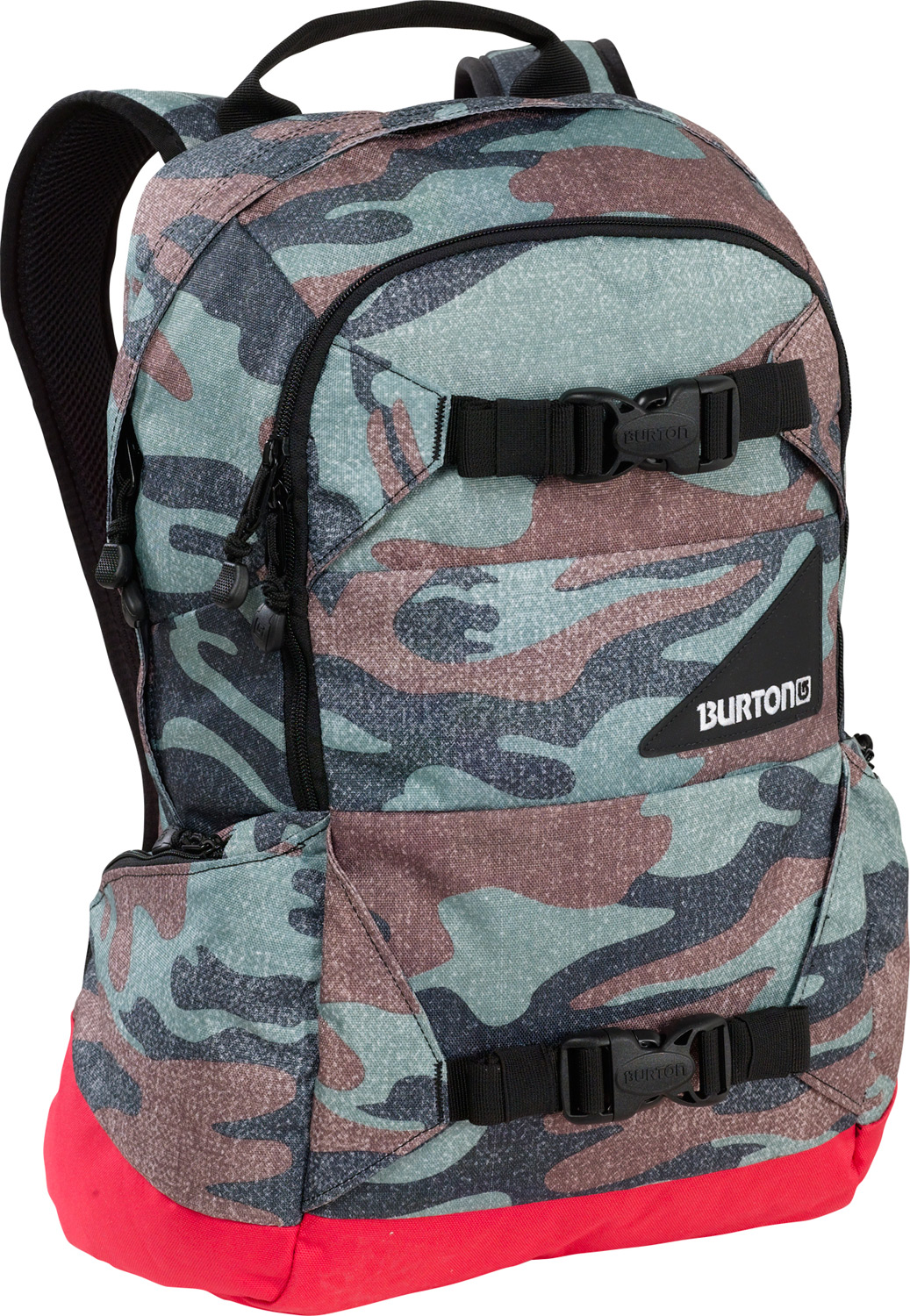 Camp and Hike Versatile, dependable, and durable, ready for any on or off-snow adventure.Key Features of the Burton Day Hiker 20L Backpack: Fabrication: 420D High-Density Nylon / 600D Polyester Cush Ergonomic Shoulder Harness and Ergonomic Back Panel Vertical Board Carry Easy Access Internal Shovel Storage Pocket Padded Laptop Compartment [20L Only] [12 in. x 10.5 in. x 1.5 in.] Fleece-Lined Goggle / Sound Pocket Hydration Compatible Waist Strap Dimensions: [19 x 11 x 8 in.] - $44.95
