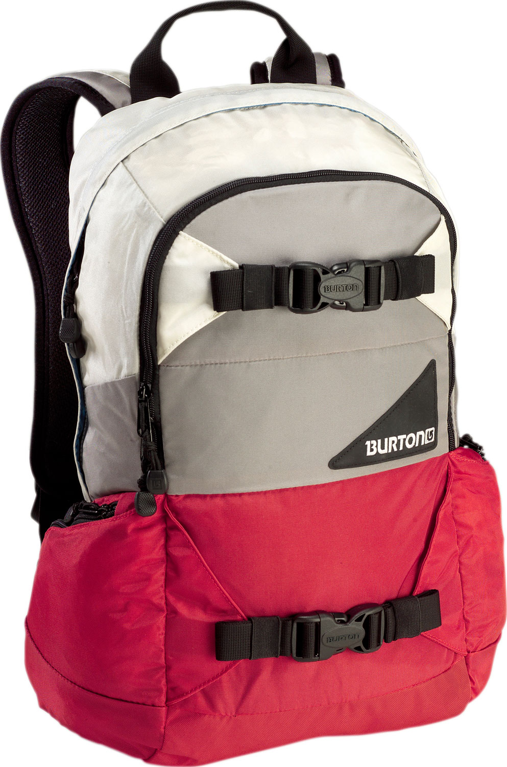 Camp and Hike Versatile, dependable, and durable,ready for any on or off-snow adventure. Key Features of the Burton Day Hiker 20L Backpack: 20L [19in x 11in x 8in] [48cm x 28cm x 20cm] Weight: 1.9 lbs [0.86 kg] Fabrication: 420D High-Density Nylon / 600D Polyester Cush Ergonomic Shoulder Harness and Ergonomic Back Panel Vertical Board Carry Easy Access Internal Shovel Storage Pocket Fleece-Lined Goggle / Sound Pocket Hydration Compatible Waist Strap - $41.95