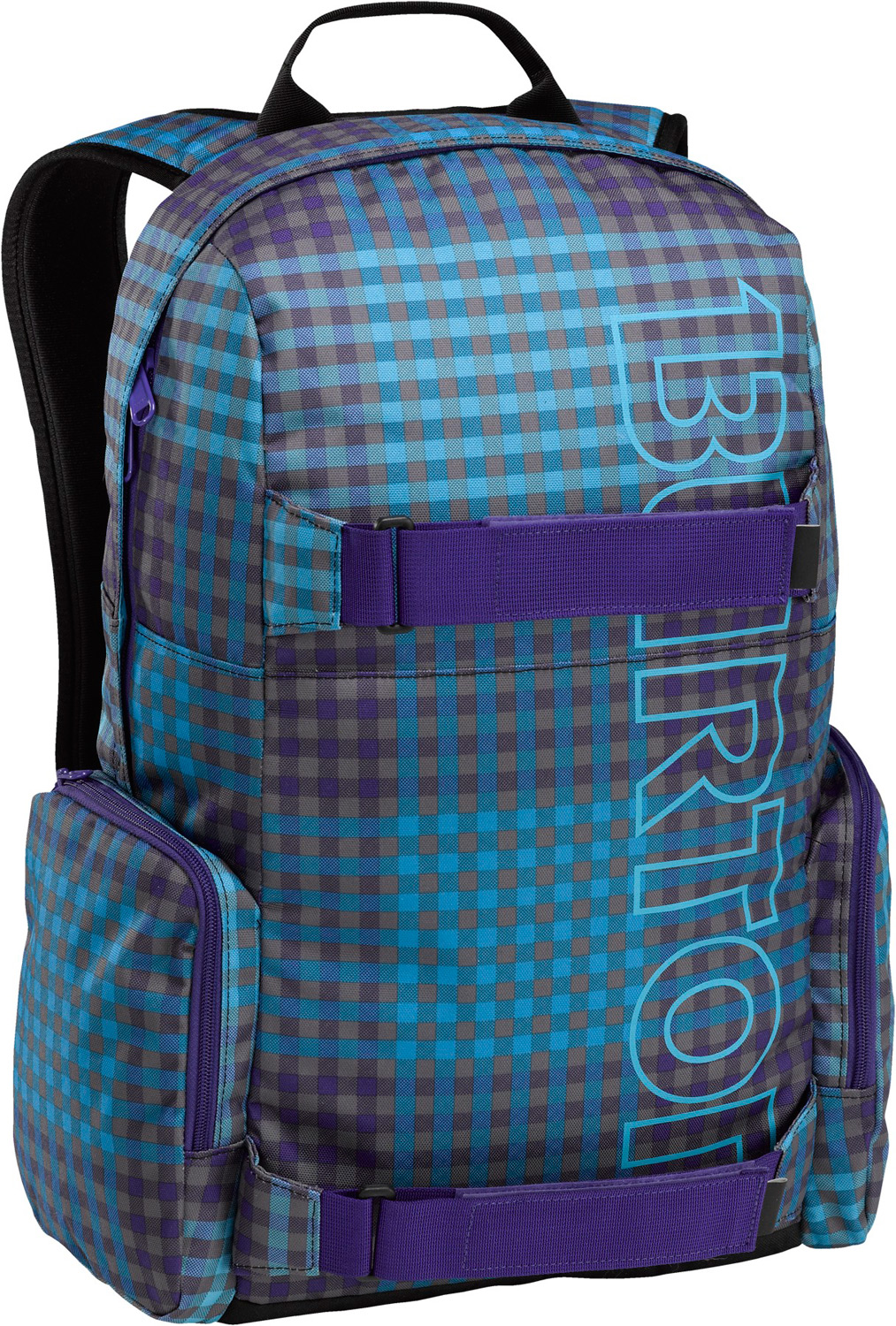 Snowboard Full-featured skate pack with big time branding. Padded sleeve stashes your laptop, exterior organization for easy gear access, plus skate straps for carrying a deck, jacket, or other gear.Key Features of the Burton Emphasis Backpack: Fabrication: 600D Polyester with Distressed PU Print [FREnDS colorway] Fabrication: 1680D Polyester Herringbone PU [cricket Herringbone colorway] Fabrication: 600D Polyester / 300D Polyester Dobby [all other colorways] Padded Laptop Sleeve [11.5in x 10in x 1.5in] [29cm x 26cm x 4cm] Vertical Skate carry cush Ergonomic Shoulder Harness with adjustable Sternum Strap Fleece-Lined Internal Pocket custom Ear Buds Included with FREnDS colorway [18.5in x 12in x 7.5in] [47cm x 31cm x 19cm] 26L - $31.95