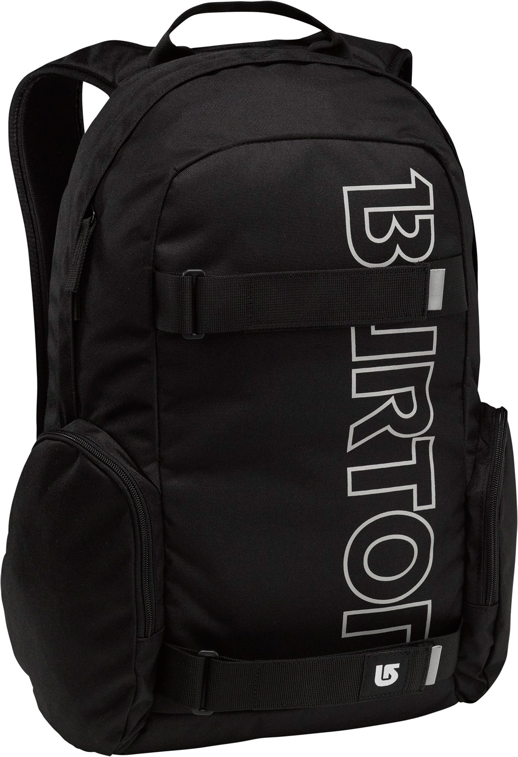 Snowboard Full featured skate pack with big time branding.Key Features of the Burton Emphasis Backpack: Volume: 26L Weight: 1.6 lbs./0.7kg Dimensions: 18.5x12x7.5 in/47x31x19 cm Fabrication: 300DPolyester Dobby/600D Polyester Cush Ergonomic Shoulder Harness and Adjustable Sternum Strap Vertical Skate Carry Padded Laptop Compartment Fleece-Lined Internal Pocket - $27.95