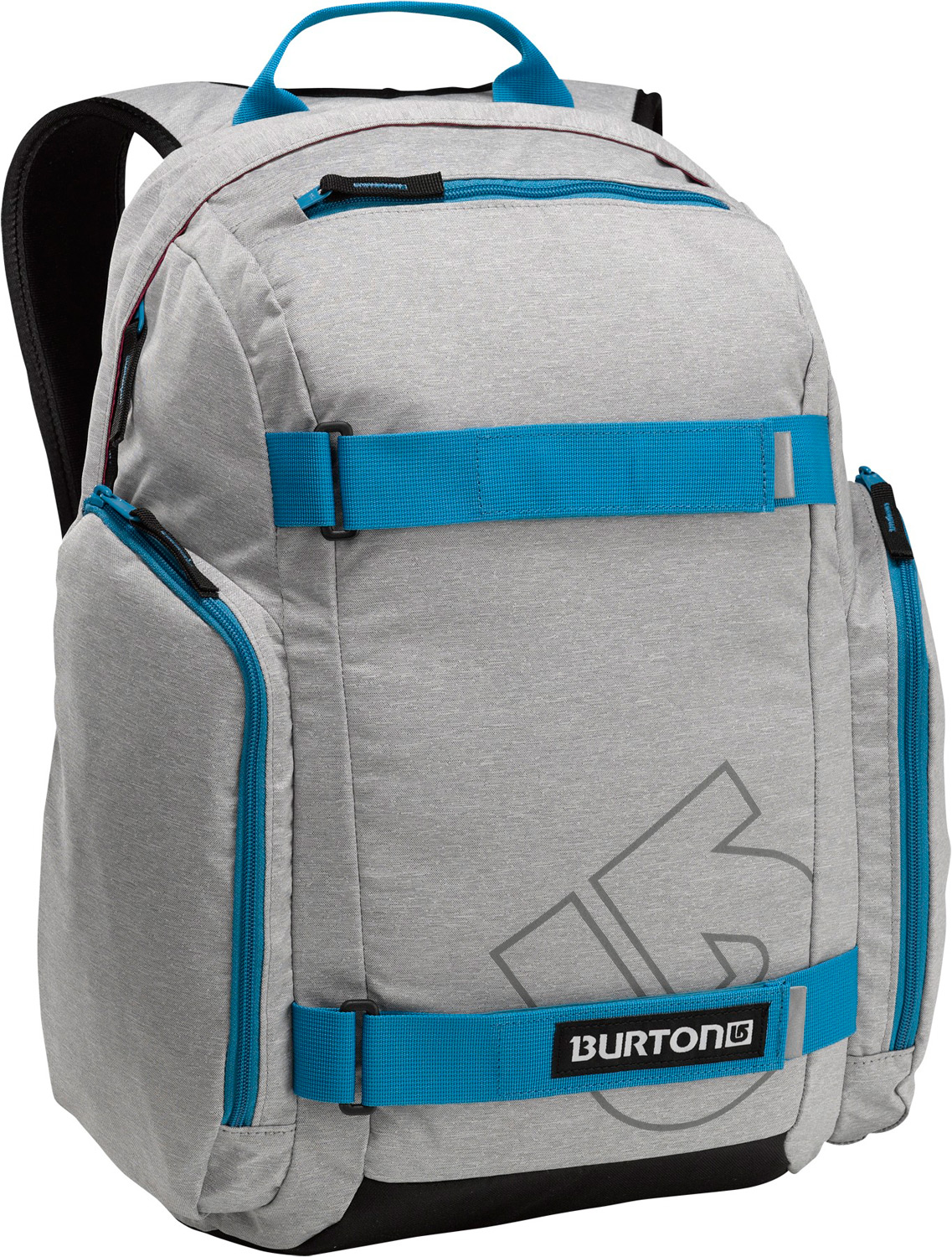 Snowboard Grind it, pump it, pack it-skate pack with built-in cooler. Your buddies will be tripping when you roll up dispensing cold ones from your Burton Metalhead Pack. With pockets for laptop and music, as well as straps for your skate and a built-in cooler compartment, this is the ultimate pack for laid-back afternoons at the spot.Key Features of the Burton Metalhead Backpack: Vertical Board Carry Laptop Compartments Bag Dimensions 18.5in x 12in x 8in 1.65 lbs [0.75kg] 26L [18.5in x 12in x 8in] [47cm x 31cm x 22cm] 300D Polyester Dobby 600D Polyester Adjustable Straps - $37.95