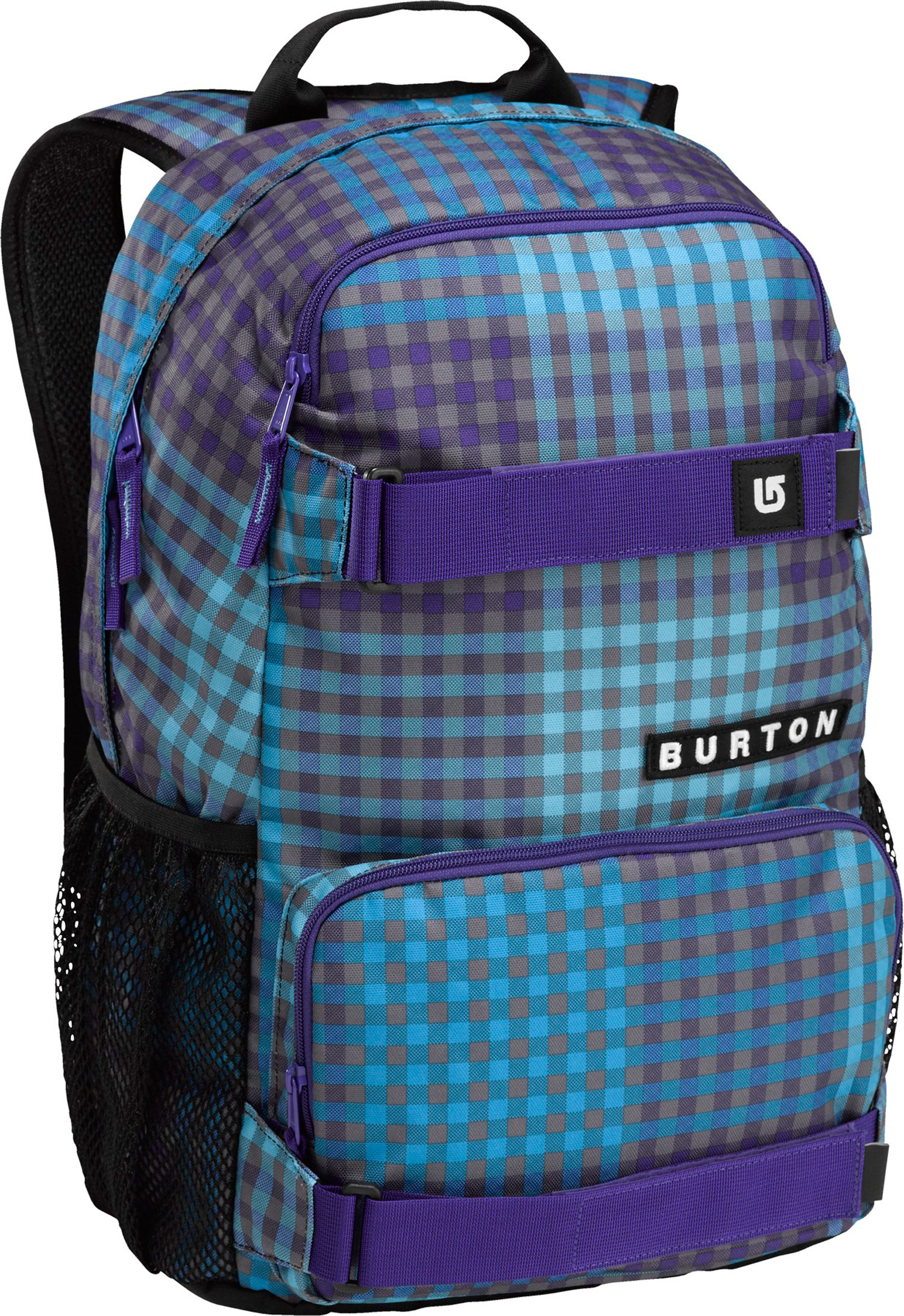 Snowboard Skate pack with 1,000 uses-the best deal going. External straps for a deck or other bulky gear, mesh water bottle pockets on the side for easy access to hydration and other necessities.Key Features of the Burton Treble Yell Backpack: Fabrication: 600D Polyester / 300D Polyester Dobby Vertical Skate carry Magazine / Laptop Sleeve cush Ergonomic Shoulder Harness Mesh water Bottle Pockets [18.5in x 12in x 7in] [47cm x 31cm x 17cm] 21L - $25.95
